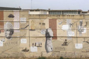 Mural de Escif en el Ivam