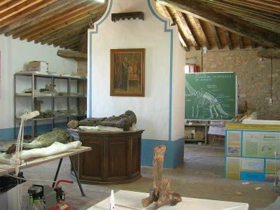 Aula de restauración paleontológica Alpuente