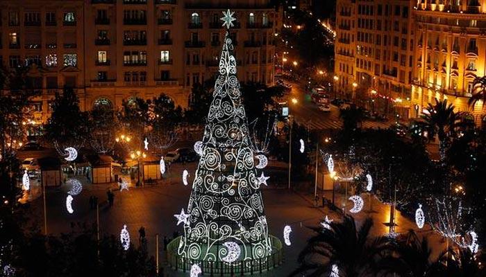 árbol de navidad valencia