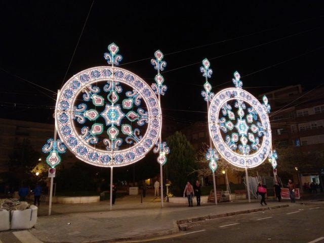 calles iluminadas valencia 2018