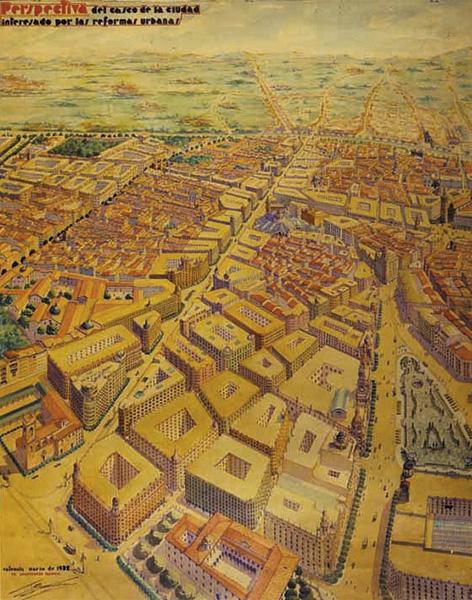 ruta valencia, capital de la republica