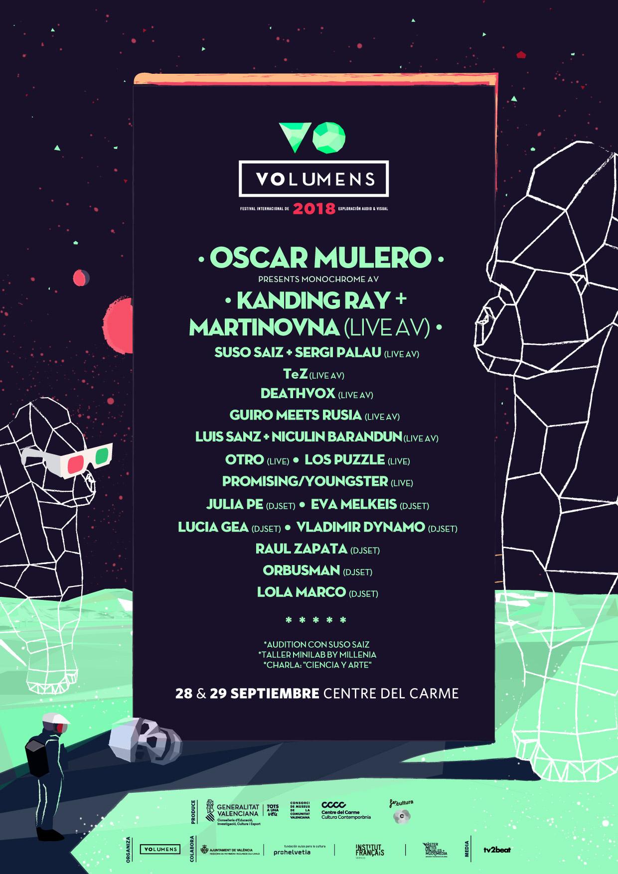 Festival Volumens Valencia 2018