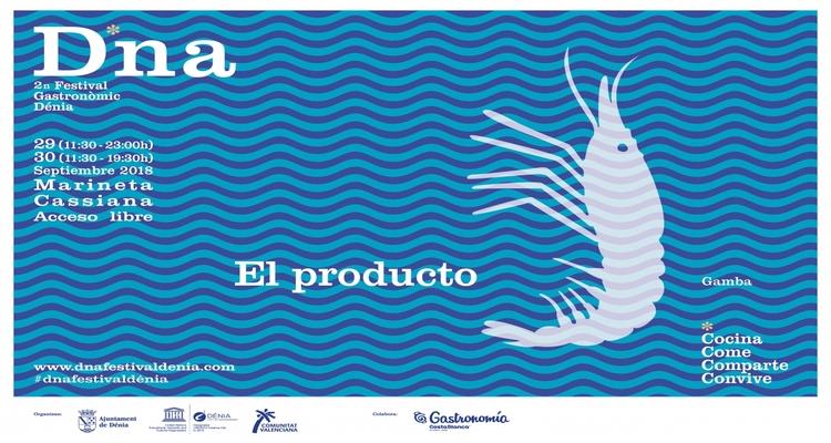 cartel festival gastronomico de denia 2018