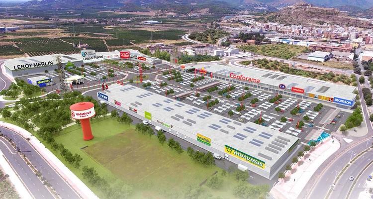 Vidanova centro comercial Sagunto