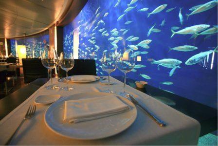 Restaurante submarino oceanografico