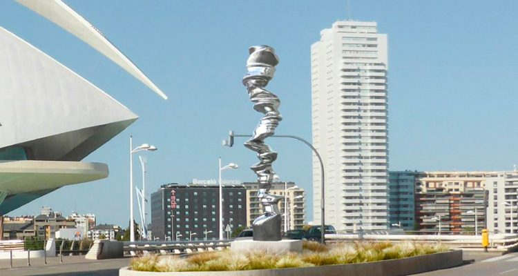 escultura point of view en valencia