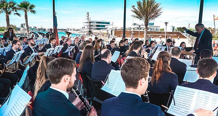 concierto gratuito la marina de valencia