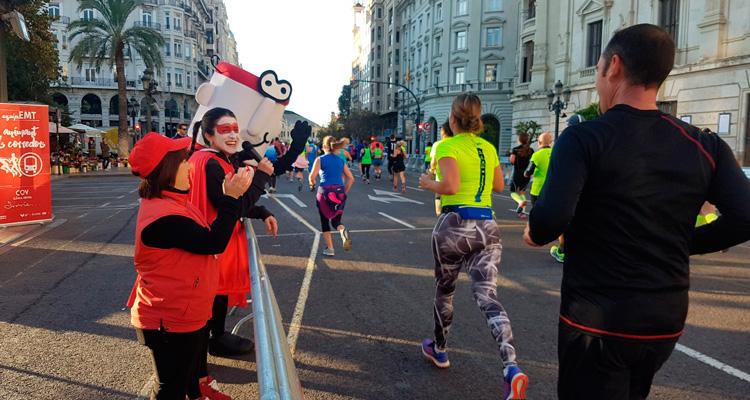 emt gratis el domingo por el maraton