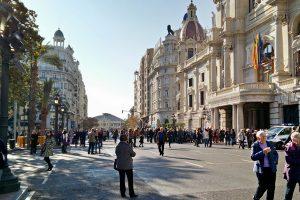 plaza del ayuntamiento para uso peatonal