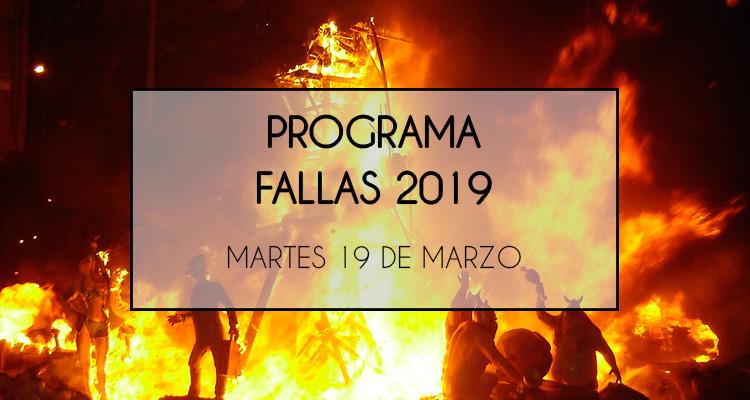 programa por días fallas 2019