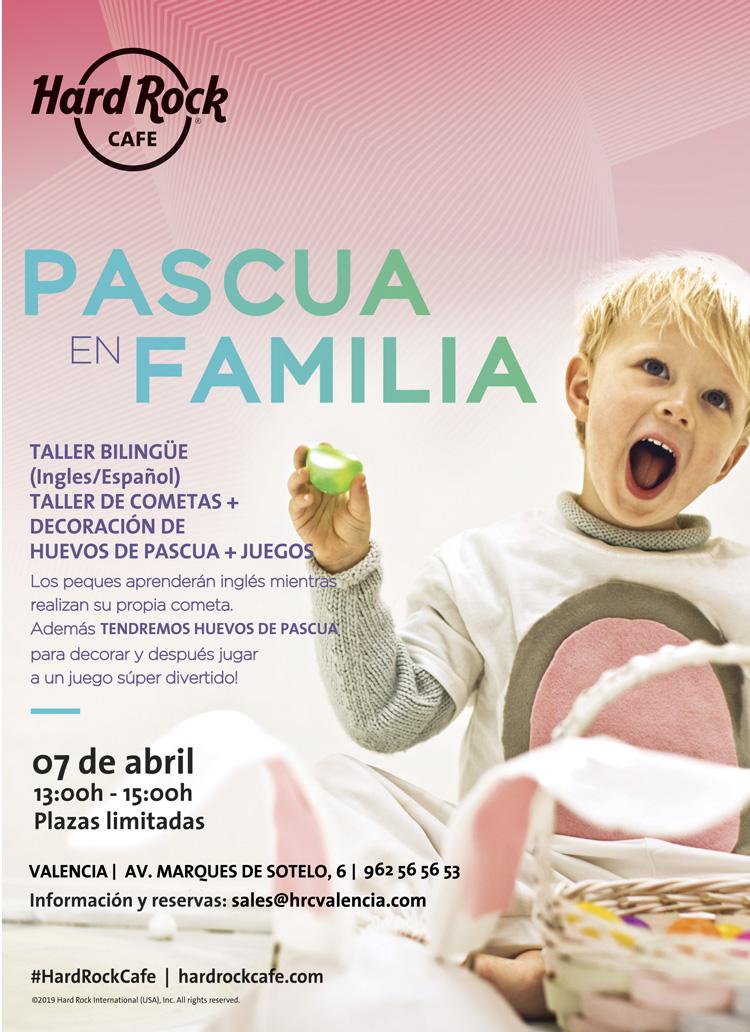 Escuela de pascua Hard Rock Cafe València