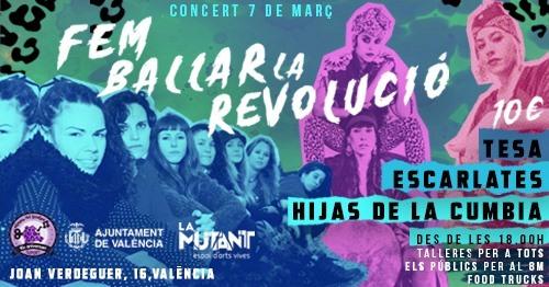 concierto día de la mujer en valencia