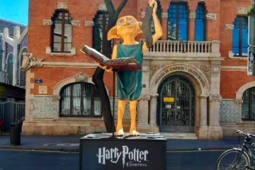 replicas de harry potter llegan a valencia