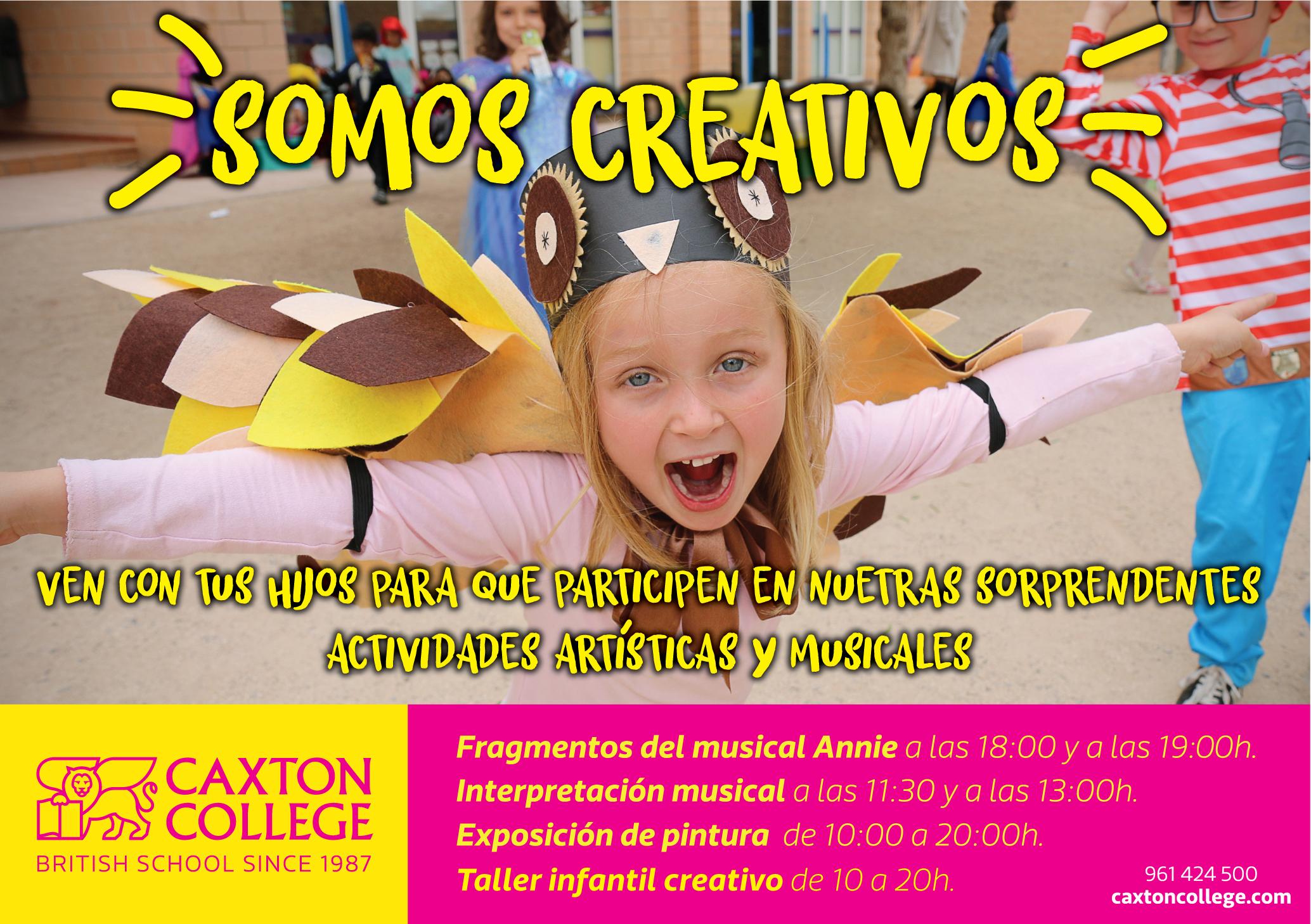 caxton college somos creativos aqua valencia