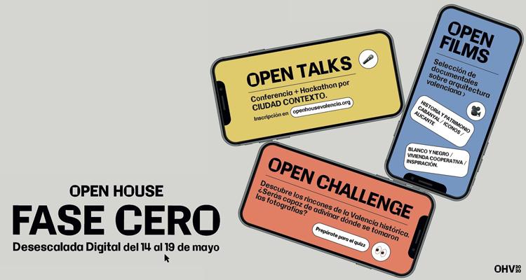 open house desescalada fase cero