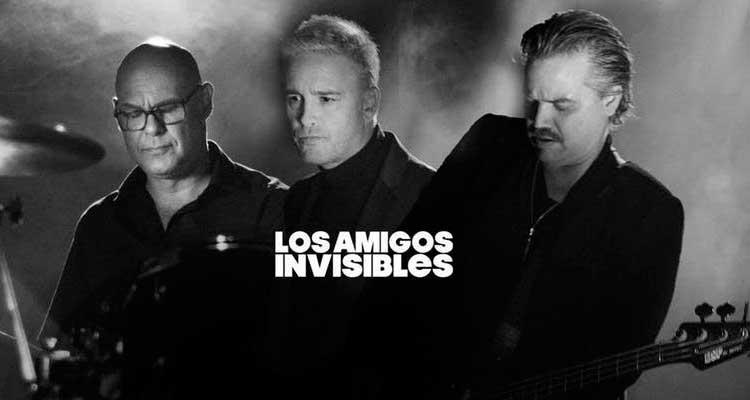 Concierto de Los Amigos Invisibles en València