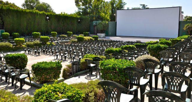 Cines de verano en los Jardines del Palau, Valencia