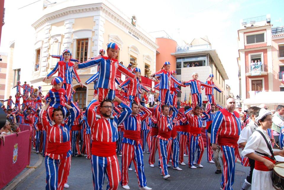 la muixeranga fiestas algemesi comunidad valenciana