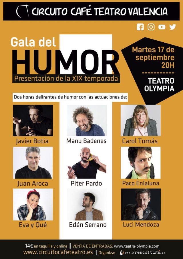 Gala del humor en Valencia