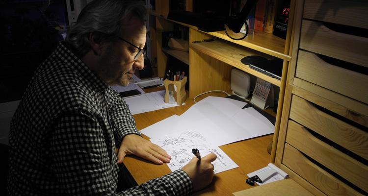 libro de dibujos de juanjo garcía