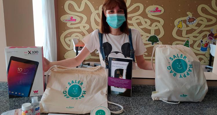 saler dona kits solidarios a la casa ronald mcdonald valencia