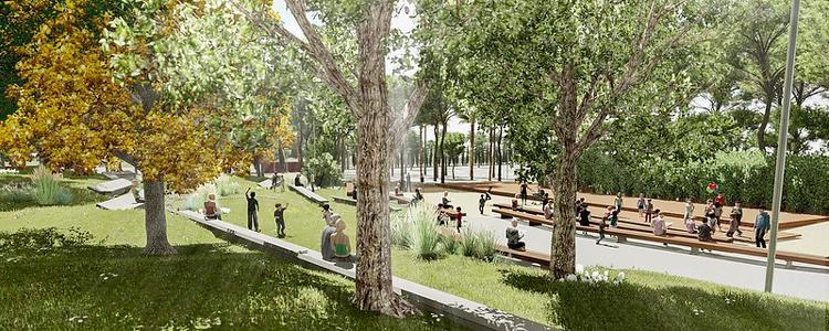nueva explanada parque del oeste