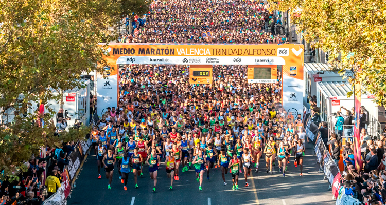 se suspende el medio maraton valencia